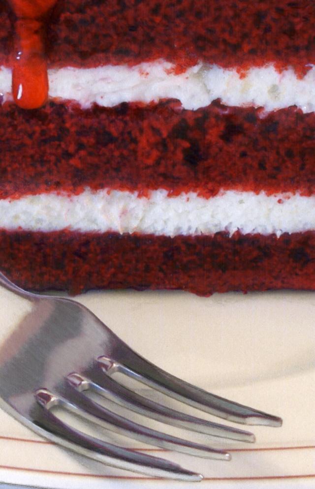 Red Velvet close up