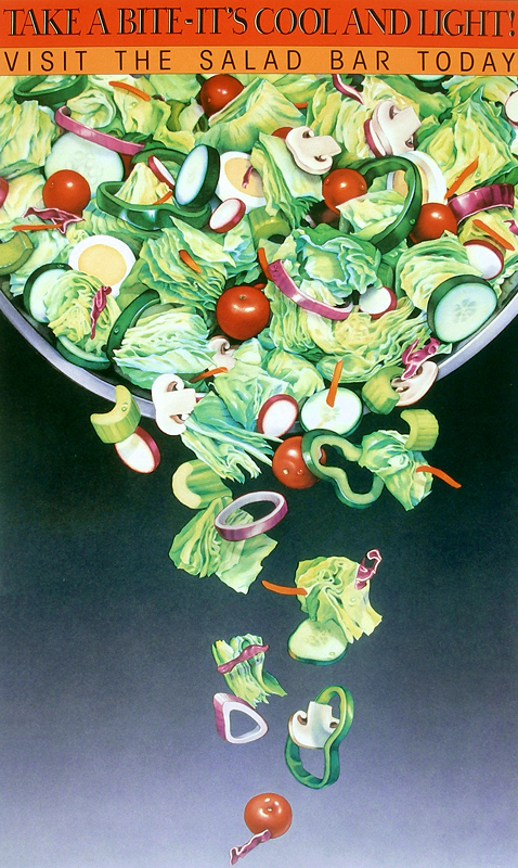 The First Poster Involved A Salad