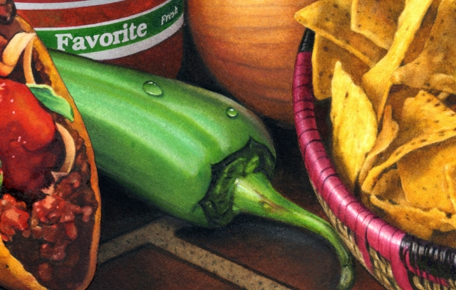 I far prefer illustrating a pepper like this one.