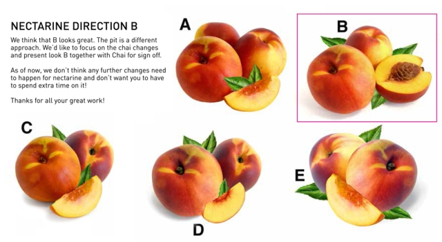 Nectarine Direction