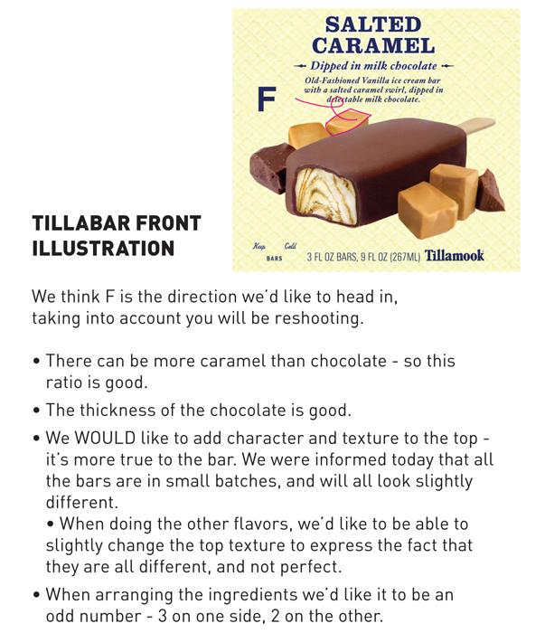 Salted Caramel front feedback