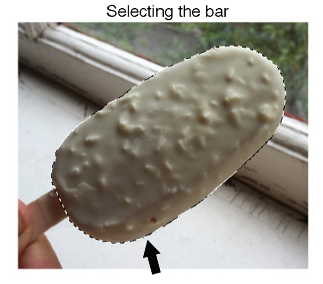 Selecting the bar