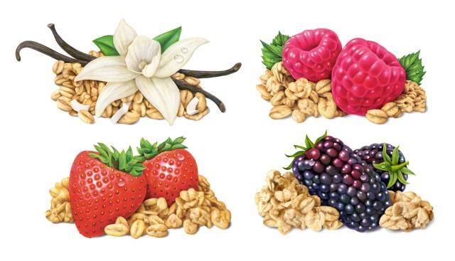 4 Yogurt granola flavors